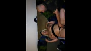 Wifey getting shared hubby records her getting pussy ate by stranger