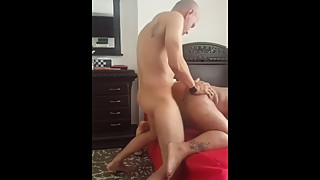 Bald Bull fucks several Other's Wife  PART 4