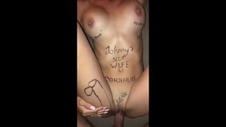 Johnnys Pornhub Slut Wife