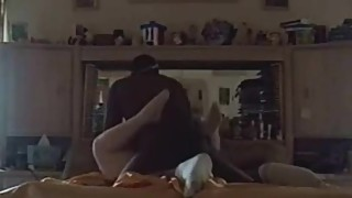 The wife and her black lover caught on video