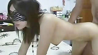Blindfolded Filipina wife fucked part6