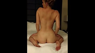 Sexy wife dances for hubby