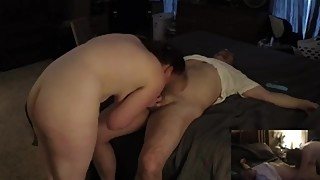 Young Hotwife afternoon play with Older Bull