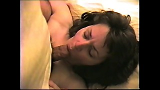 Cheating wife lets me cum on her face