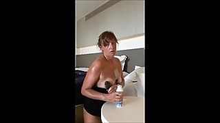 Dirty Talking Wife Fantasy Fucks in a Disco