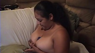 busty latina milf plays with big boobs and egg vibrator.MOV