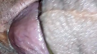 My hot wife sucking and fucking up close