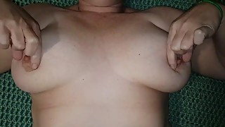 Amazing COMPILATION of my Wife's Big Natural Tits
