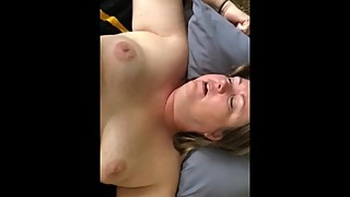 Chubby wife gets hairy pussy fucked