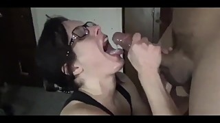 amateur wife loves bbc cum