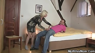 Mywifesmom - mother fuck husband's doughter