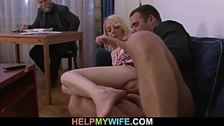 His young wife craving for hard young cock