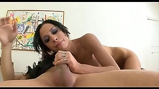 Gorgeous Brunette Slut Myn Deepthroats some Dick