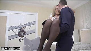 Glamkore - Euro housewife Sicilia tight pussy stretched