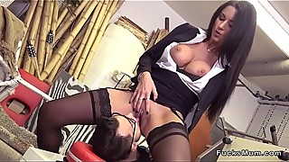 Huge tits Milf banging and squirting
