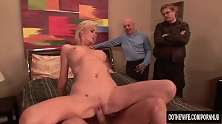 Oversexed Wife Fucked and Facialled