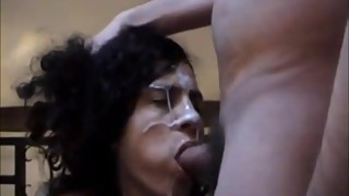 Wife made to take a facial