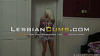 Dancing Daughter Ask Money to Lesbian Mom - LesbianCums.com