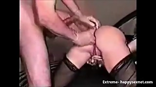 Really extreme !!! Deep ass fisting on my wife
