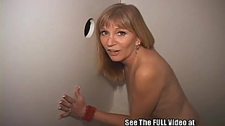 Blonde Mature MILF Gets Dual Creampies In Local Tampa Gloryhole!