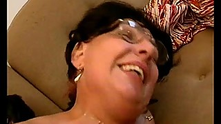 Horny grandma loves getting fucked