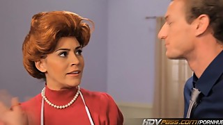 HDVPass Sexy Redhead Housewife Raylene Gives a Loving Blowjob