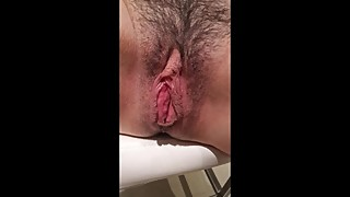 tied hairy mature french wife with big lips
