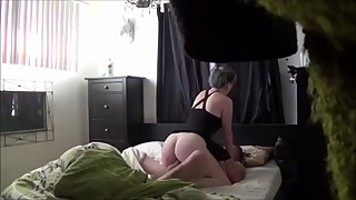 Hot cheating wife on real hidden camera
