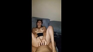 Snapchat session 3 wife getting pussy pounded