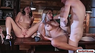 Keira on threesome with bf and his wife