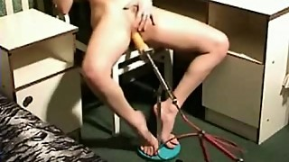 Hot MILF Fucked by Fucking Machine