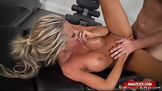 fitness wife get massage and fucked hard cool blowjob