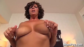 MomPov Janet - 43 year old lonely housewife loves sex E171