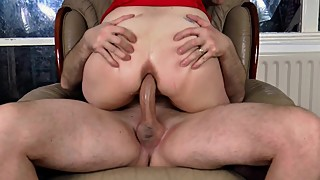 Slutty Wife Loves Cock in her ASS and Cum on her face