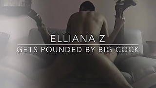 Whorewife Elliana Z fucked in rhythm