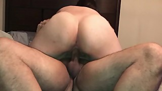PAWG Wife Riding Dark Dick
