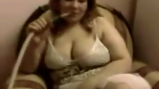 arab egyptian bbw wife smoking then get fucked