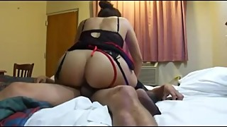 Big ASS Indian wife riding cock