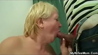 Mywifesmom - I spy on my wife's mom while masturbating