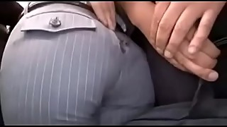 After Asian office-lady'_s pants were torn on the bus, she get molested - ReMilf.com
