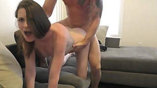 Cheating Wife Squirts for Stud BF