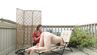 Dominant Wife Denies Sub Husband Cumshot In Outside Homemade Video