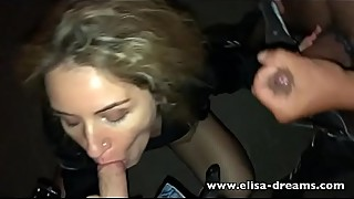 Sexy Hotwife gets fucked outdoors by a stranger