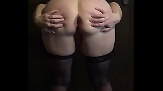 Amateur wife posing and masturbating video collage