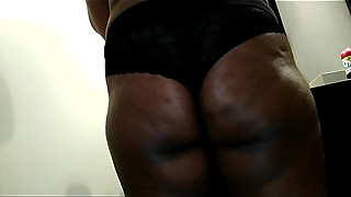 Wife black panties