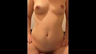 Pregnant Wife #2 - Riding Creampie
