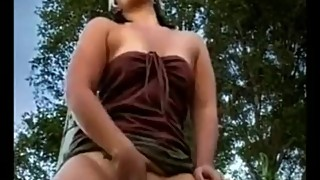 WIFE CAROL FINGERING TO LOUD SCREAMING OUTDOOR PUBLIC ORGASM