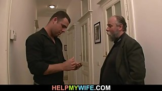 Desperate old man pays him to bang his wife