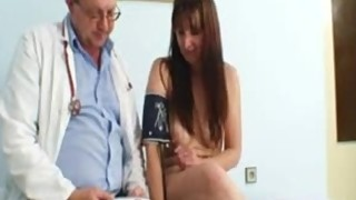 Bushy Pussy Wife Karin Real Gyno Clinic Exam