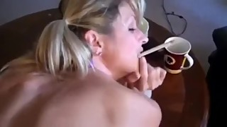 Look Into The Camera #25 - Wife Creampied While Smoking